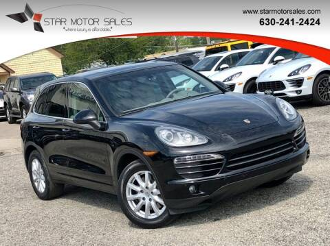 2012 Porsche Cayenne for sale at Star Motor Sales in Downers Grove IL
