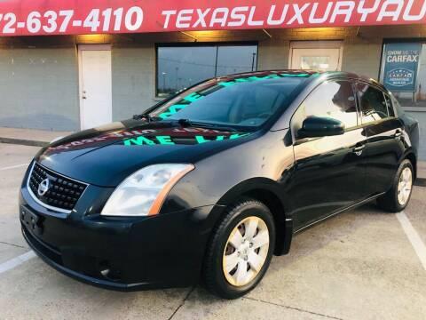 2008 Nissan Sentra for sale at Texas Luxury Auto in Cedar Hill TX