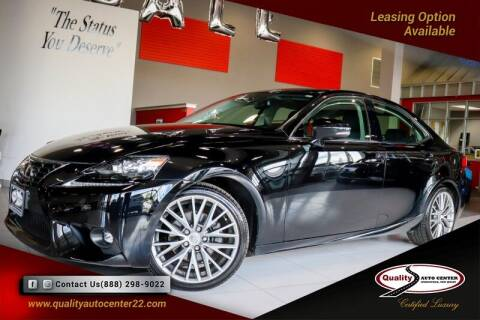 2015 Lexus IS 250 for sale at Quality Auto Center of Springfield in Springfield NJ