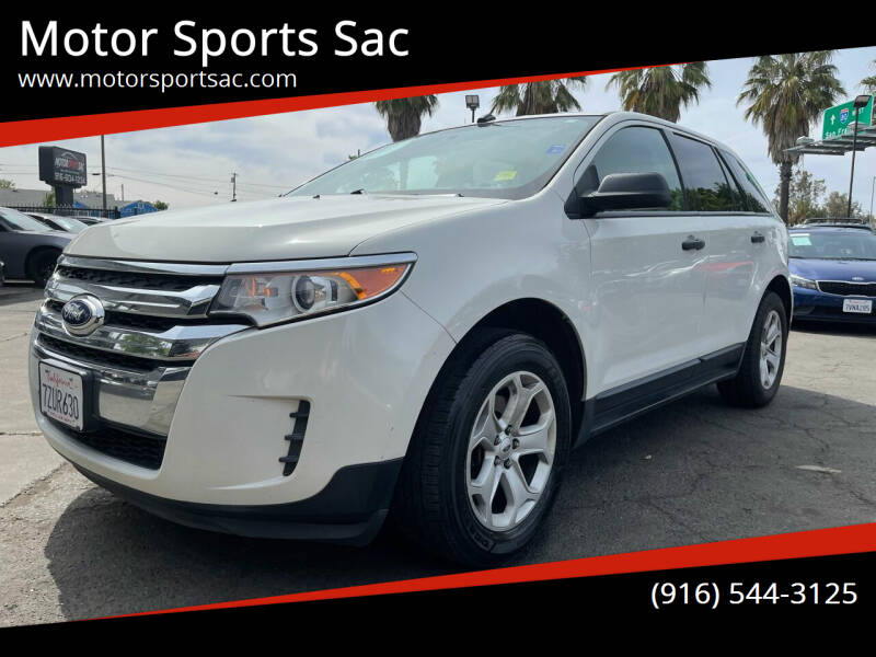 2013 Ford Edge for sale at Motor Sports Sac in Sacramento CA