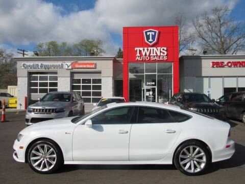 2013 Audi A7 for sale at Twins Auto Sales Inc in Detroit MI