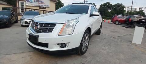 2012 Cadillac SRX for sale at AUTOTEX FINANCIAL in San Antonio TX