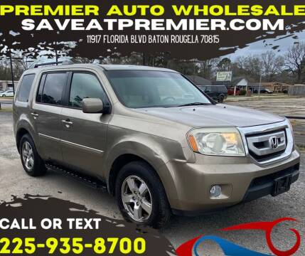 2010 Honda Pilot for sale at Premier Auto Wholesale in Baton Rouge LA