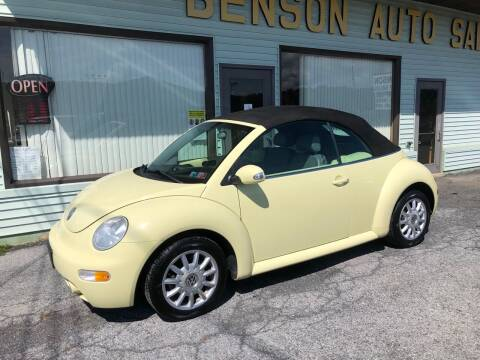 2005 Volkswagen New Beetle for sale at Superior Auto Sales in Duncansville PA