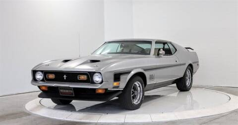1972 Ford Mustang for sale at Mershon's World Of Cars Inc in Springfield OH