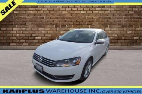 2014 Volkswagen Passat for sale at Karplus Warehouse in Pacoima CA