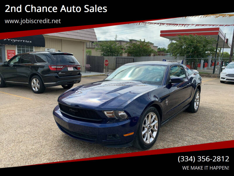 2010 Ford Mustang for sale at 2nd Chance Auto Sales in Montgomery AL