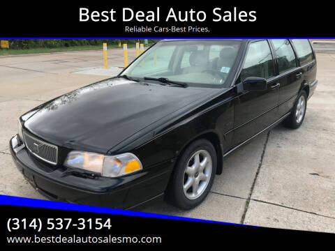 1998 Volvo V70 for sale at Best Deal Auto Sales in Saint Charles MO