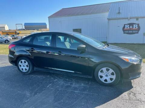2016 Ford Focus for sale at B & B Sales 1 in Decorah IA