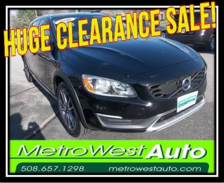 2016 Volvo V60 Cross Country for sale at Metro West Auto in Bellingham MA