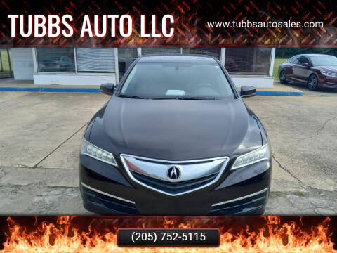 2016 Acura TLX for sale at Tubbs Auto LLC in Tuscaloosa AL