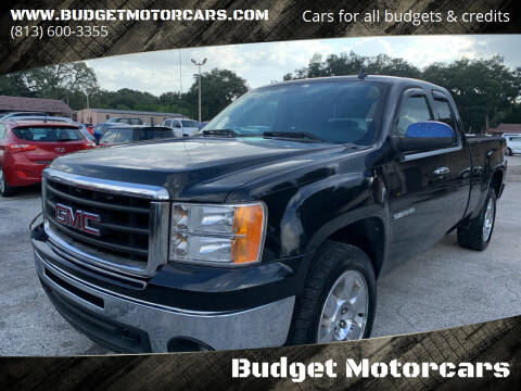 2010 GMC Sierra 1500 for sale at Budget Motorcars in Tampa FL