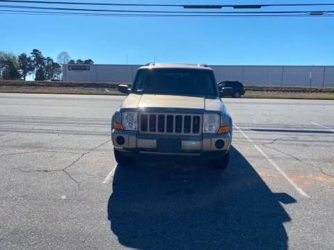 2006 Jeep Commander for sale at S & H AUTO LLC in Granite Falls NC