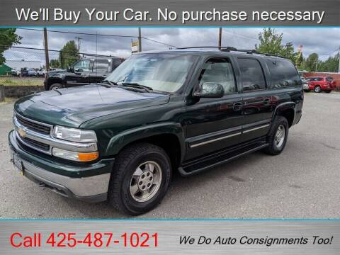 2001 Chevrolet Suburban for sale at Platinum Autos in Woodinville WA