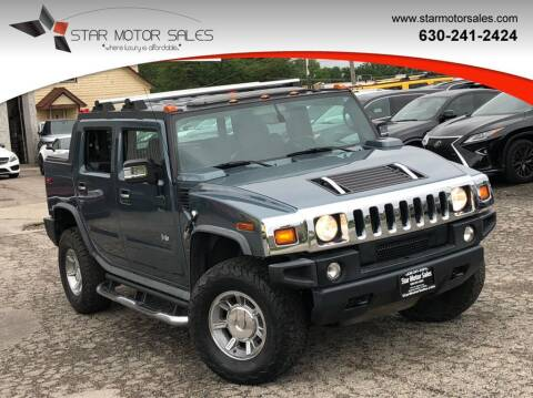 2007 HUMMER H2 SUT for sale at Star Motor Sales in Downers Grove IL