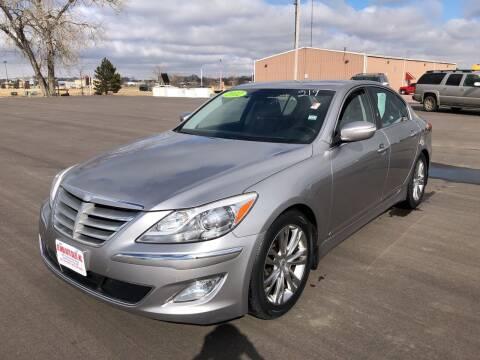 2012 Hyundai Genesis for sale at De Anda Auto Sales in South Sioux City NE