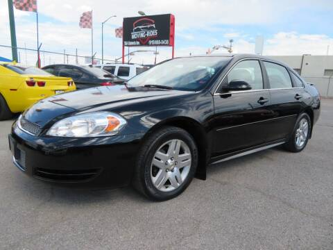2013 Chevrolet Impala for sale at Moving Rides in El Paso TX