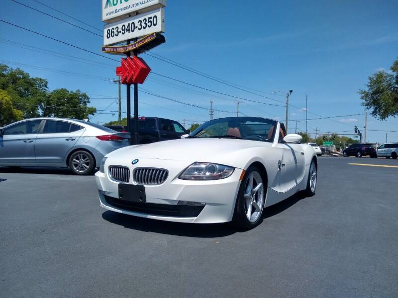 2007 BMW Z4 for sale at BAYSIDE AUTOMALL in Lakeland FL