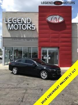 2018 Chevrolet Malibu for sale at Legend Motors of Ferndale in Ferndale MI