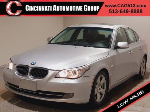 2008 BMW 5 Series for sale at Cincinnati Automotive Group in Lebanon OH