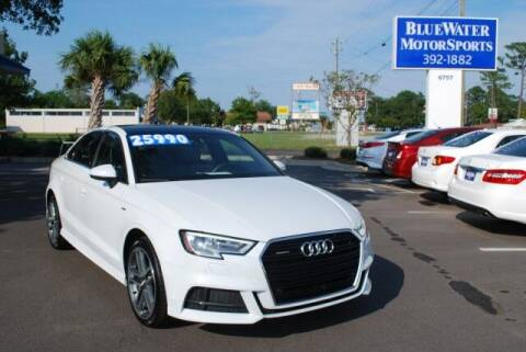 2017 Audi A3 for sale at BlueWater MotorSports in Wilmington NC