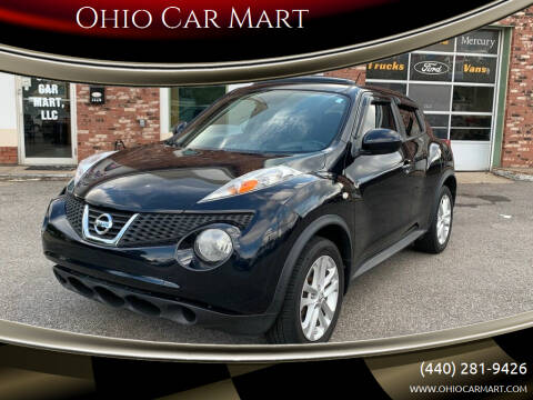 2013 Nissan JUKE for sale at Ohio Car Mart in Elyria OH
