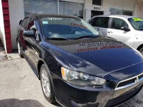 2012 Mitsubishi Lancer for sale at Fantasy Motors Inc. in Orlando FL