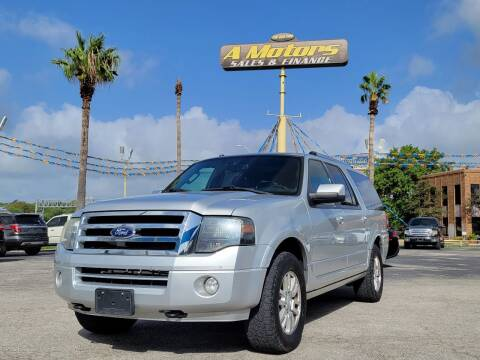 2013 Ford Expedition EL for sale at A MOTORS SALES AND FINANCE - 5630 San Pedro Ave in San Antonio TX