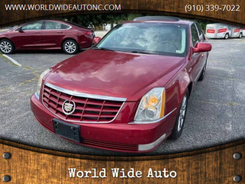2008 Cadillac DTS for sale at World Wide Auto in Fayetteville NC