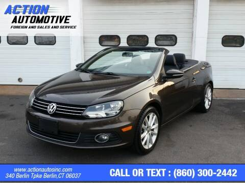 2012 Volkswagen Eos for sale at Action Automotive Inc in Berlin CT