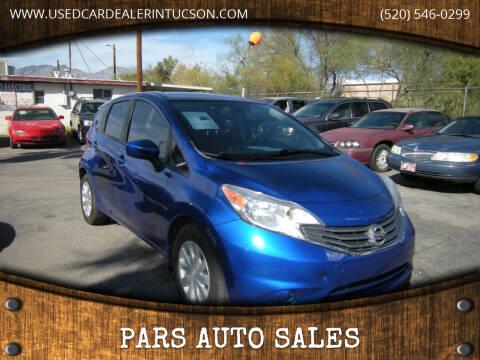 2015 Nissan Versa Note for sale at PARS AUTO SALES in Tucson AZ