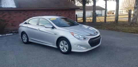 2015 Hyundai Sonata Hybrid for sale at Elite Auto Sales in Herrin IL