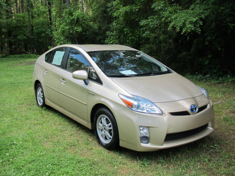 2011 Toyota Prius for sale at White Cross Auto Sales in Chapel Hill NC