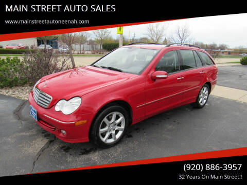 2005 Mercedes-Benz C-Class for sale at MAIN STREET AUTO SALES in Neenah WI