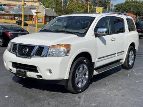 2010 Nissan Armada for sale at Kugman Motors in Saint Louis MO