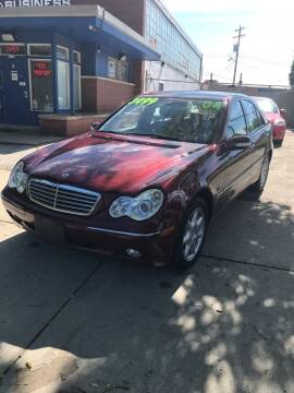 2004 Mercedes-Benz C-Class for sale at Square Business Automotive in Milwaukee WI
