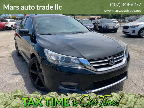 2015 Honda Accord for sale at Mars auto trade llc in Kissimmee FL