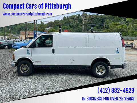 2002 Chevrolet Express Cargo for sale at Compact Cars of Pittsburgh in Pittsburgh PA