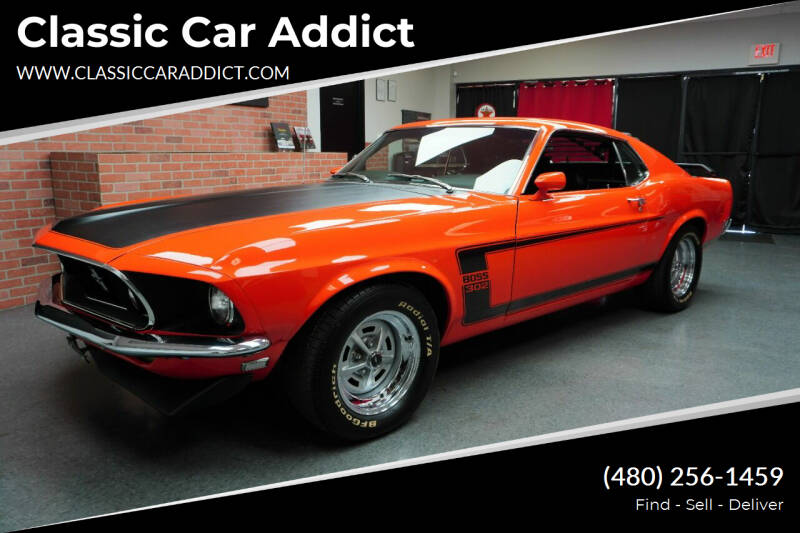 1969 Ford Mustang Boss 302 for sale at Classic Car Addict in Mesa AZ