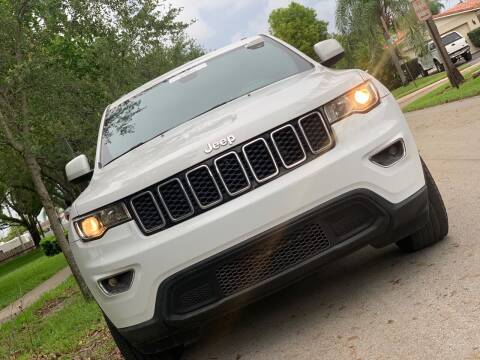 2017 Jeep Grand Cherokee for sale at HIGH PERFORMANCE MOTORS in Hollywood FL