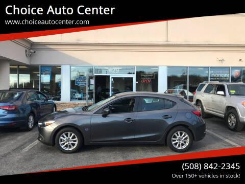 2017 Mazda MAZDA3 for sale at Choice Auto Center in Shrewsbury MA