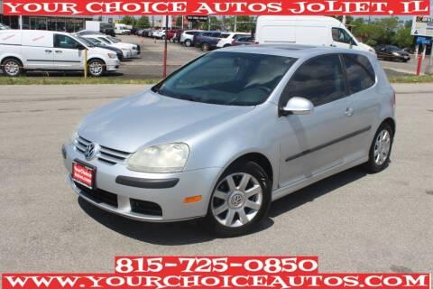 2009 Volkswagen Rabbit for sale at Your Choice Autos - Joliet in Joliet IL