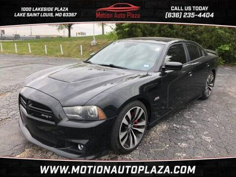 2013 Dodge Charger for sale at Motion Auto Plaza in Lakeside MO