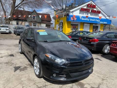 2013 Dodge Dart for sale at C & M Auto Sales in Detroit MI
