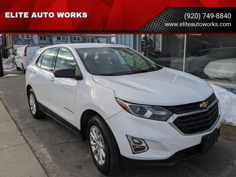 2018 Chevrolet Equinox for sale at ELITE AUTO WORKS - Inventory in Appleton WI
