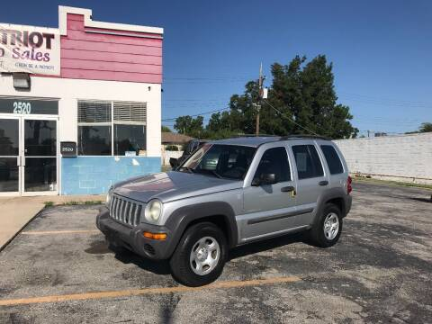 2004 Jeep Liberty for sale at Patriot Auto Sales in Lawton OK