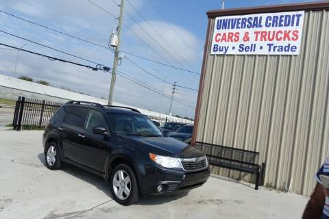 2010 Subaru Forester for sale at Universal Credit in Houston TX