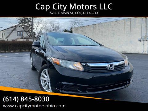 2012 Honda Civic for sale at Cap City Motors LLC in Columbus OH