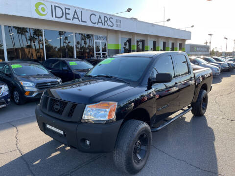 2012 Nissan Titan for sale at Ideal Cars in Mesa AZ