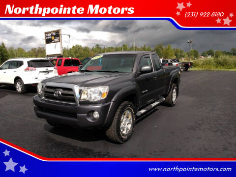 2010 Toyota Tacoma for sale at Northpointe Motors in Kalkaska MI